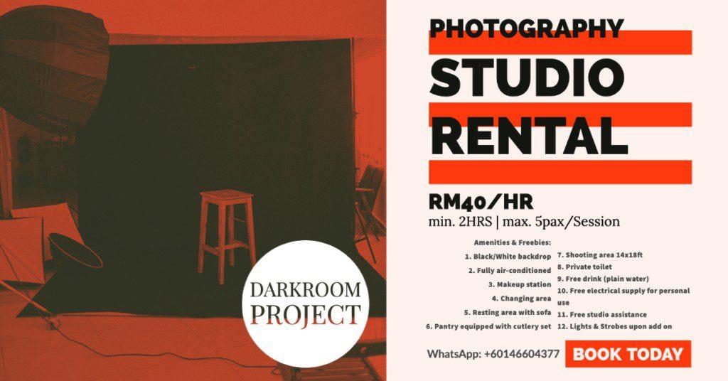 Budget Photo Studio for Rent in Petaling Jaya PJ KL KJ Kelana Jaya